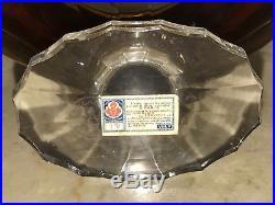 1920s SHALIMAR GUERLAIN ANTIQUE BACCARAT CRYSTAL VINTAGE GLASS PERFUME BOTTLE VR