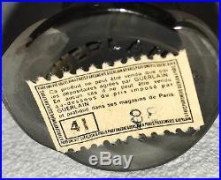 1950's Vintage Guerlain Mitsouko Perfume Rosebud / Amphora Bottle in Box