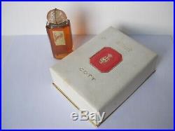 1oz Coty L'aimant Parfum 30ml Full Bottle Paris France Vintage / Antique Perfume