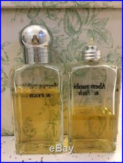 Abercrombie &Fitch Classic Signature Perfume Women Vintage 2 Bottles Pls Read