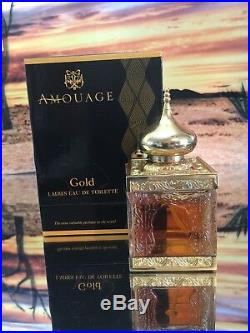 Amouage Woman Gold Fragrance In Mosque Bottle And Original Box vintage