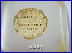 Arly Lilas Flacon De Parfum Depinoix Art Nouveau 1915 Vintage Perfume Bottle