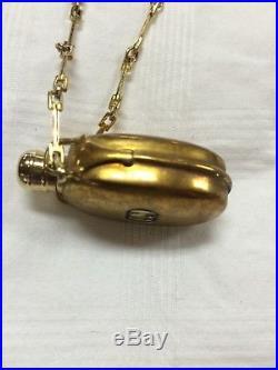 Authentic Vintage Gucci Perfume Bottle Necklace