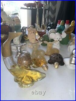 Avon vintage perfume bottles lot
