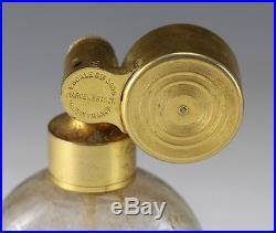 Baccarat Marcel Franck Escale Art Glass Perfume Bottle Atomizer Vintage