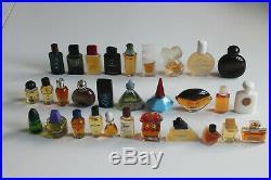 Big Lot of 300 Miniature Mini Perfume Parfum Bottles Vintage Fragrance