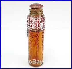 C1924 Vintage Antique Rene R. Lalique Forvil Unused Perfume Bottle With Case