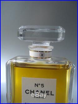 CHANEL Factice No5 EDP Vintage 1970s -1980s 50ml 3.4 Mint Splash Display Bottle