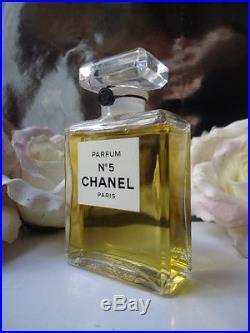 CHANEL V Rare No5 50ml Parfum Factice Vintage 1970s Baudruchage Sealed Bottle