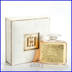 Caron Voeu de Noel Factice Perfume Bottle Dummy Display Parfum du Glass Vintage