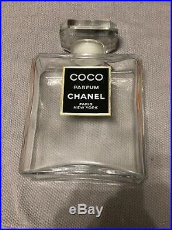 Chanel Coco Factice Bottle 10.5 Vintage Excellent Condition