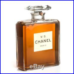 Chanel No 5 Factice Glass Dummy Display T. G. M. Vintage Perfume Bottle 1950s