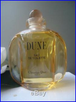 Christian Dior Dune FACTICE Huge Rare Stunning 200ml Splash Bottle Vintage 1991
