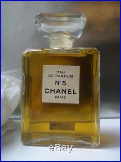 Factice CHANEL No5 EDP Splash Dummy 100ml Vintage 1980s Very Rare 11.2cm Bottle