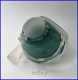 Fine Vintage Signed Hand-blown William Glasner Perfume Bottle Perfect Condition