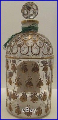 GUERLAIN EDC IMPERIALE PERFUME SEALED VINTAGE 1980s 24ct GOLDEN BEE BOTTLE
