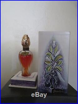 GUERLAIN PERFUME ODE VINTAGE FULL BOTTLE 2/3 oz withBOX LOOK