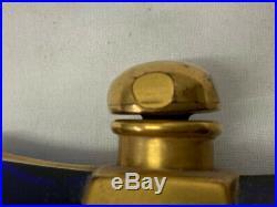 Guerlain Gold Cobalt Dawamesk Perfume Bottle France Vintage