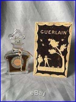 Guerlain Mitsouko Vintage Parfum Perfume Baccarat Bottle 3 oz with Box Nice
