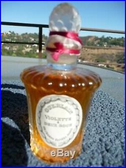 Guerlain Vintage 1937 Violette A Deux Sous Perfume Bottle, sealed
