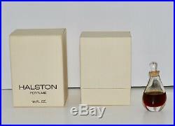Halston vintage 1975 perfume in box Elsa Peretti bottle 1/4 fl oz