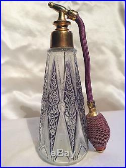 Julien Viard Vaporisateur A Parfum Art-deco 1920 Vintage Perfume Bottle Signed