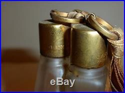 Lancome Gorgeous Vintage Couple Dancers Perfume Bottle 4 1/4 Extremely Rare