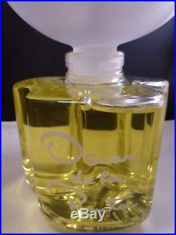 LRG RARE Vtg Oscar de la Renta Perfume Bottle FACTICE, 1977 20 FL OZ 600 ML