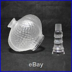 Lalique Vintage Marie Claude Flacon Eliselles Perfume Bottle CF01465