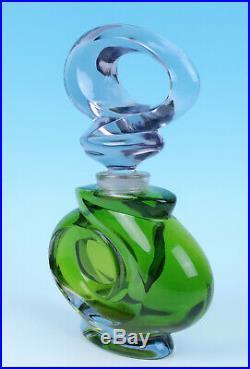 Large 12 Vintage GALANOS Factice Store Display Glass Perfume Bottle James