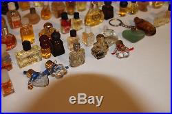 Lot of 168 Miniature Mini Perfume Parfum Bottles Vintage Women's Fragrance