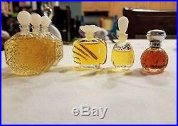 Lot of 50 perfume bottles, miniature bottles, glass parfum Vintage