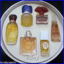 Miniature Lord & Taylor Perfume Bottles Parfum Vintage Pheromone Burani Design