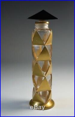 Perfume Bottle Vintage Commercial ROSINE Paul POIRET ARLEQUINADE Art Deco Paris
