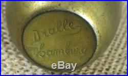 RARE Vintage Antique 1920 Rose Hen Perfume Bottle Dralle Hamburg Germany
