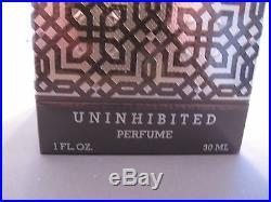 RARE Vintage Cher Uninhibited UNOPENED Parfum Perfume Bottle 1 fl oz