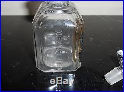 RARE Vintage Guerlain Vetiver Depose Perfume Bottle 3.5 Tall