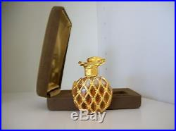 RARE Vintage L'Air du Temps PerfumeBottle+Funnel+Case1/4 fl ozCOLLECTIBLE