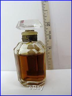 RARE Vintage On Dit Elizabeth Arden Miniature Perfume Bottle 1/4 oz