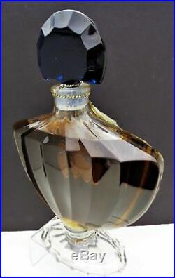 Rare Large Vintage Sealed Guerlain Shalimar Factice-display Bottle 15 Tall