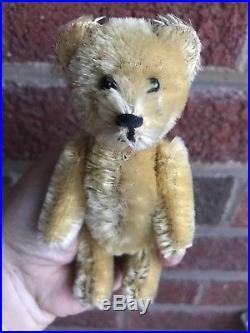 Rare Miniature 5 Vintage Schuco Mohair Perfume Bottle Bear Excellent Buy Now