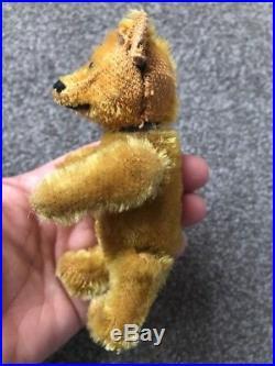 Rare Miniature 5 Vintage Schuco Mohair Perfume Bottle Bear Excellent No Res