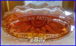 Rare No Opened Joy Jean Patou Baccarat Crystal Vtg Perfume Bottle