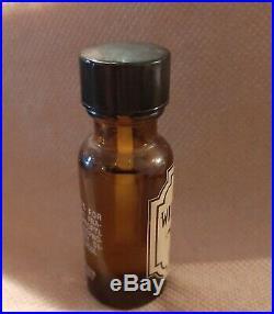 Rare VINTAGE 1970s WILD MUSK OIL Coty Div. Pfizer. 50 Oz Bottle ORIGINAL Formula