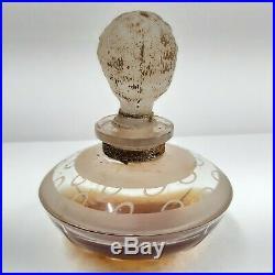 Rare Vintage Antique Fascination Bryenne Paris Unused Perfume Bottle France 1920