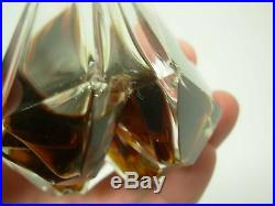 Rare Vintage Ciro Reflexions Perfume Lovely Signed Baccarat Crystal Bottle 4