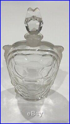 Rare Vintage Guerlain Champs Elysees Perfume Baccarat Turtle Bottle