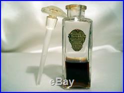 Richard Hudnut Three Flowers Flacon De Parfum 1923 Vintage Perfume Bottle