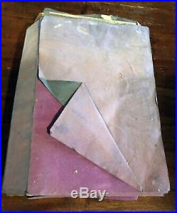 SHALIMAR PERFUME VINTAGE 1948 Large BACCARAT BOTTLE in purple box GUERLAIN PARIS