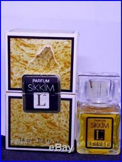SIKKIM 14ml Vintage Parfum sealed bottle